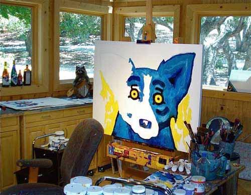 George-rodrigue-studio