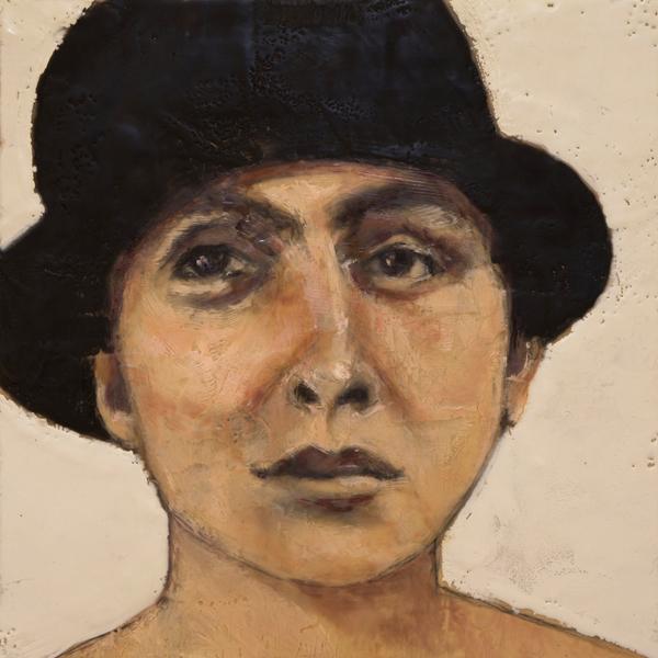 Roseanne-Burke-Georgia-O'Keeffe-Portrait-2014