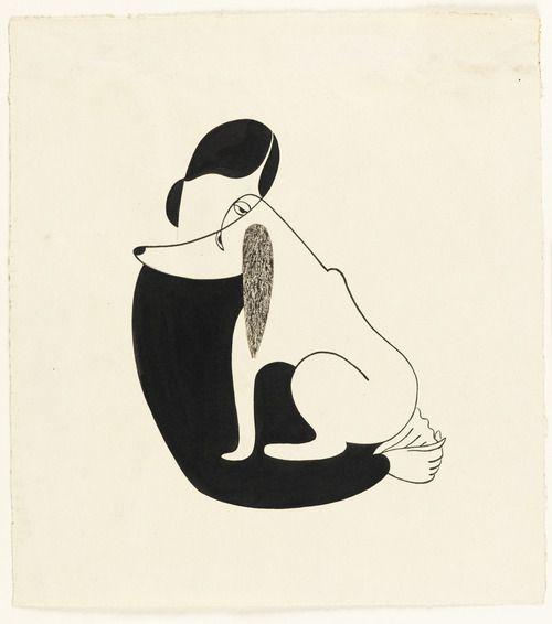 Woman-and-dog-by-christina-malman