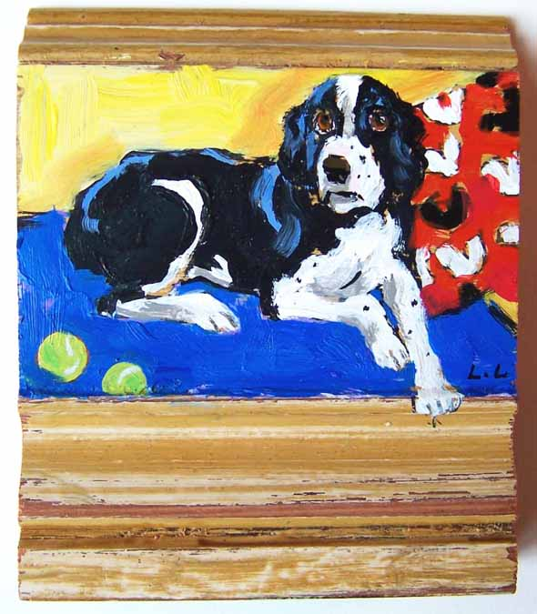 Lauri-luck-60-at-60-black-and-white-dog