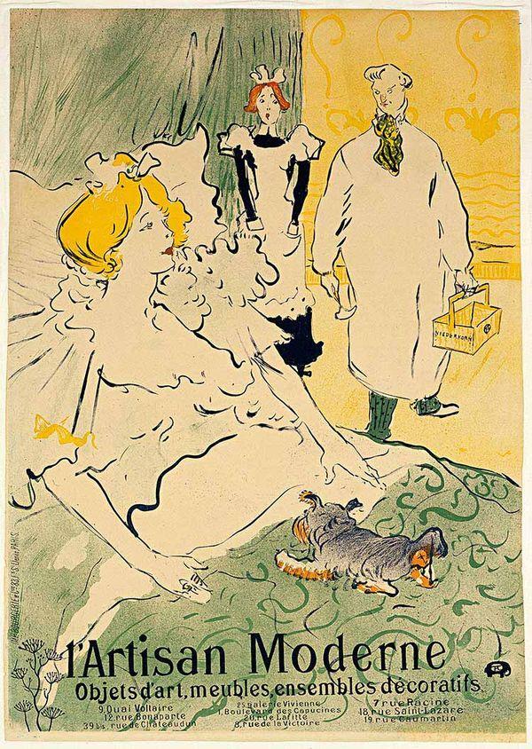 Toulouse-Lautrec_L'Artisan-Modern-1896