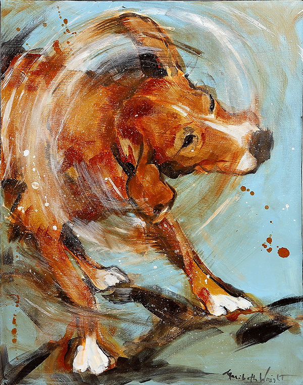 After-the-bath-wet-dog-painting-by-maribeth-wright