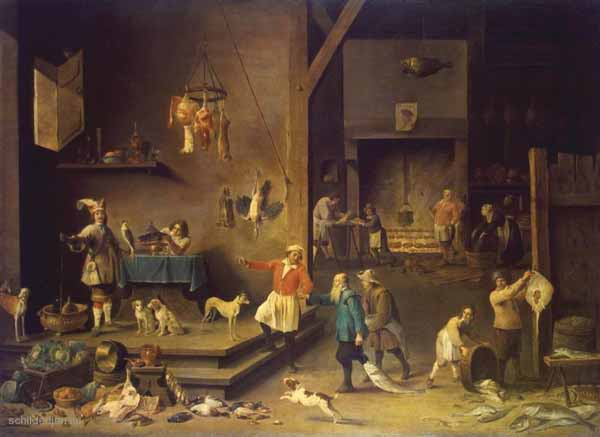 David-Teniers-de-Jonge-the-Kitchen-1646