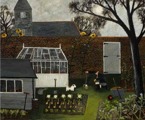 Gary-bunt-the-moonlit-garden