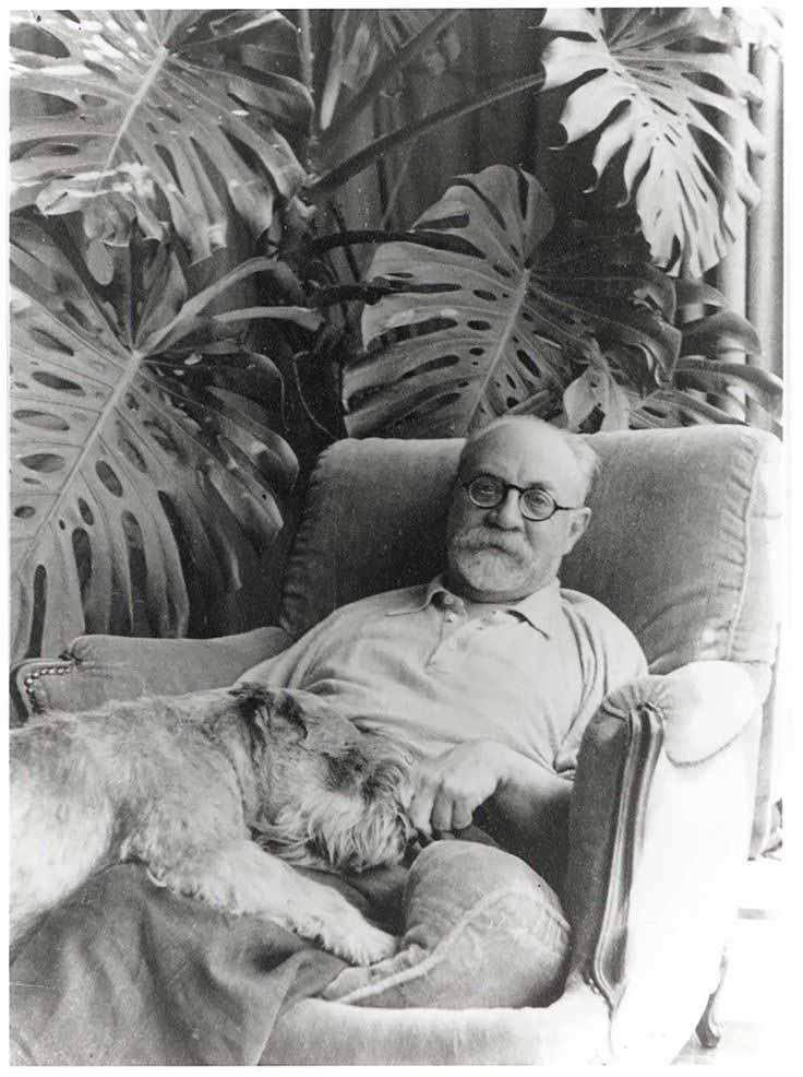 Henri-matisse-and-dog