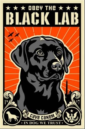 Dog Art Today Obey The Pure Breed Cry Havoc