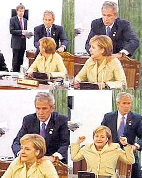 Bush_groping_merkel
