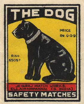 matchbox label doodle