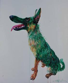 Zhou_green_dog_titi_nr_3