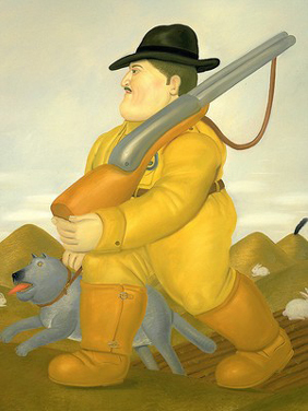 Botero_the_hunter