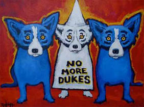 Rodrigue_no_dukes_blue_dog