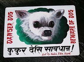 Nepal_dog_art_4