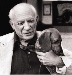 Pablo Picasso Dachshund