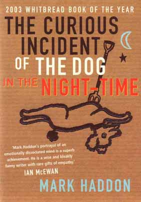 curious incident of a dog in the nighttime mark haddon essay Here is my essay, written out: inner conflict and the curious incident of the dog in the night-time by juliana b the book 'the curious incident of the dog in the night-time' by mark haddon.